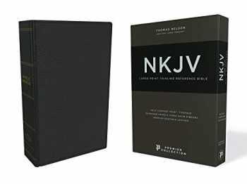 9780785220886-0785220887-NKJV, Thinline Reference Bible, Large Print, Premium Goatskin Leather, Black, Premier Collection, Comfort Print