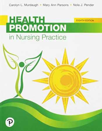 9780134754086-0134754085-Health Promotion in Nursing Practice (8th Edition)