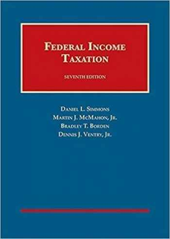 9781609302641-1609302648-Federal Income Taxation (University Casebook Series)