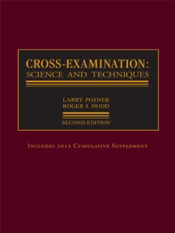 9780327164340-0327164344-Cross-Examination:  Science and Techniques
