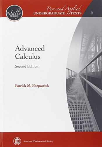 9780821847916-0821847910-Advanced Calculus (Pure and Applied Undergraduate Texts: The Sally Series)
