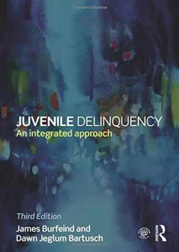 9781138843202-1138843202-Juvenile Delinquency
