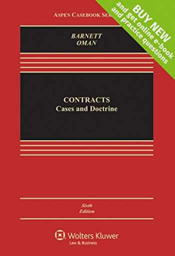 9781454871033-1454871032-Contracts: Cases and Doctrine [Connected Casebook] (Aspen Casebook)