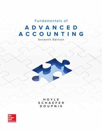 9781259722639-1259722635-FUNDAMENTALS OF ADVANCED ACCOUNTING 7