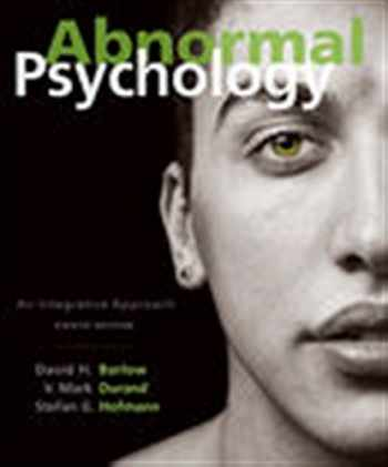 9781305950443-1305950445-Abnormal Psychology Integrativ