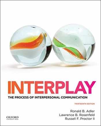 9780199390489-0199390487-Interplay: The Process of Interpersonal Communication
