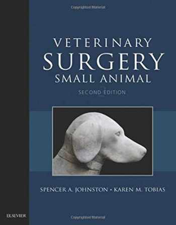 9780323320658-0323320651-Veterinary Surgery: Small Animal Expert Consult: 2-Volume Set, 2e