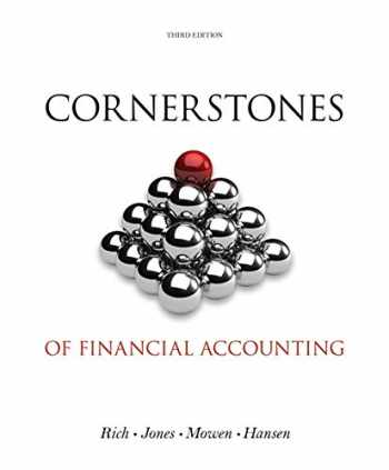 9781133943976-1133943977-Cornerstones of Financial Accounting (with 2011 Annual Reports: Under Armour, Inc. & VF Corporation) (Cornerstones Series)