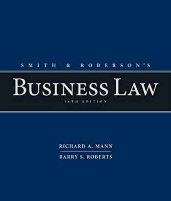 9781285428253-1285428250-Smith and Roberson's Business Law