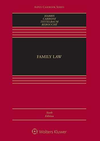 9781454887782-1454887788-Family Law (Aspen Casebook)