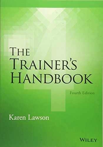 9781118933138-1118933133-The Trainer's Handbook