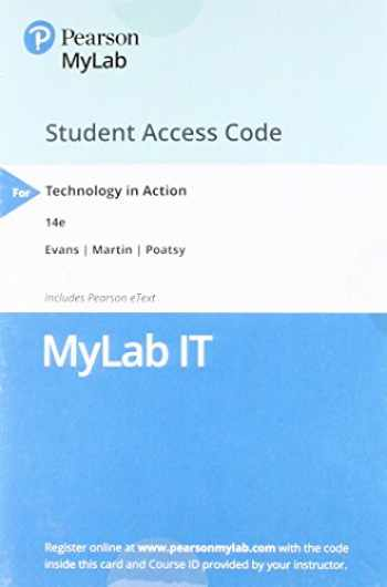 9780134608600-0134608607-MyLab IT with Pearson eText -- Access Card -- for Technology in Action (My It Lab)