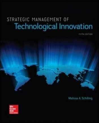 strategic management of technological innovation pdf