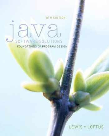 9780133594959-0133594955-Java Software Solutions (8th Edition)