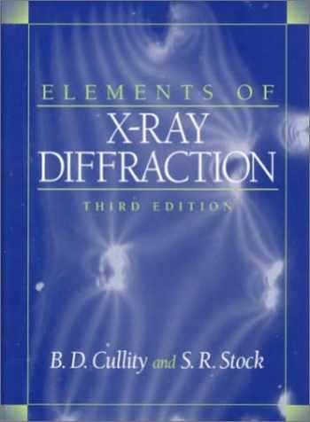 9780201610918-0201610914-Elements of X-Ray Diffraction (3rd Edition)