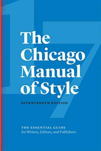 9780226287058-022628705X-The Chicago Manual of Style, 17th Edition