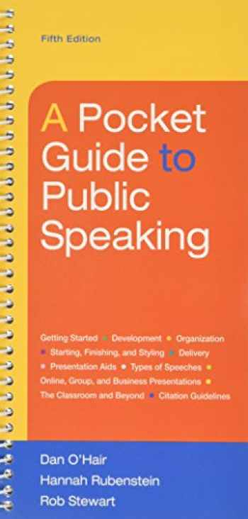 9781319055349-1319055346-Pocket Guide to Public Speaking 5e & LaunchPad (Six Month Access)