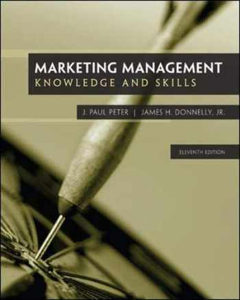9780077861056-0077861051-Marketing Management: Knowledge and Skills, 11th Edition