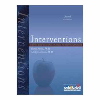 9781599090177-1599090171-Interventions: Evidence-Based Behavioral Strategies for Individual Students