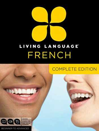 9780307478436-0307478432-Living Language French, Complete Edition: Beginner through advanced course, including 3 coursebooks, 9 audio CDs, and free online learning