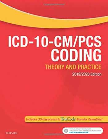 9780323532211-0323532217-ICD-10-CM/PCS Coding: Theory and Practice, 2019/2020 Edition