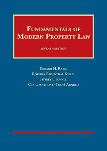 9781609303266-1609303261-Fundamentals of Modern Property Law (University Casebook Series)