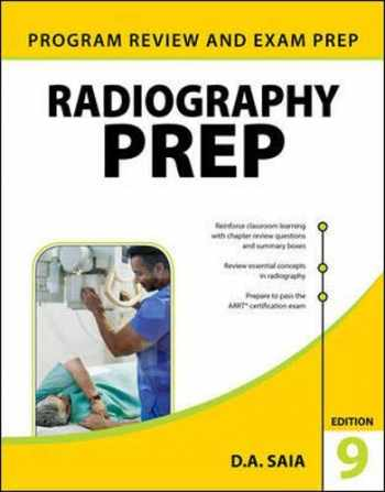 9781259863578-1259863573-Radiography PREP (Program Review and Exam Preparation), Ninth Edition