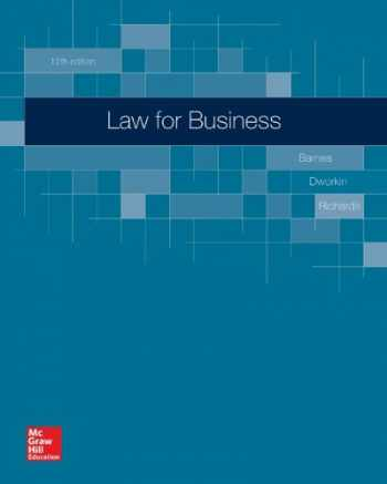 9780078023811-0078023815-Law for Business