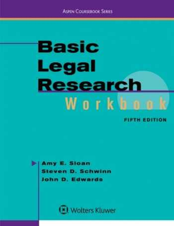 9781454881407-1454881402-Basic Legal Research Workbook (Aspen Coursebook)