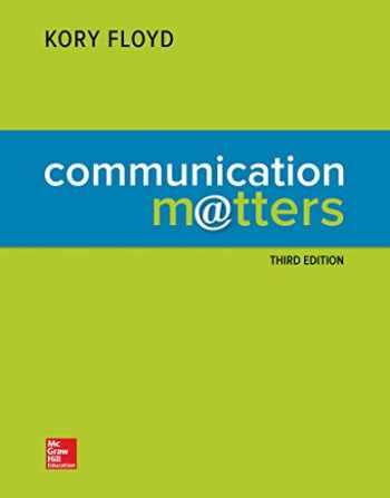 COMMUNICATION MATTERS (LOOSE-LEAF) 3