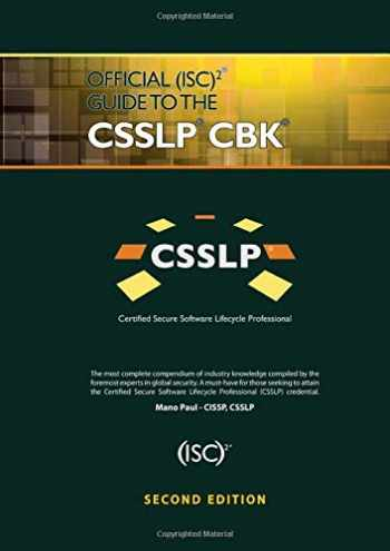 9781466571273-1466571276-Official (ISC)2 Guide to the CSSLP CBK ((ISC)2 Press)