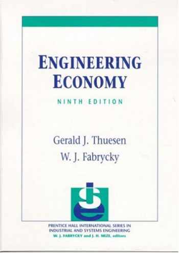 9780130281289-013028128X-Engineering Economy (9th Edition)