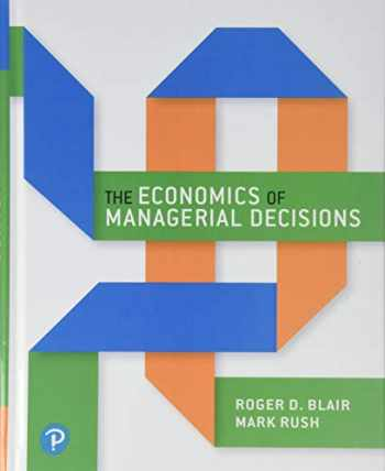 9780133548235-0133548236-The Economics of Managerial Decisions (What's New in Economics)