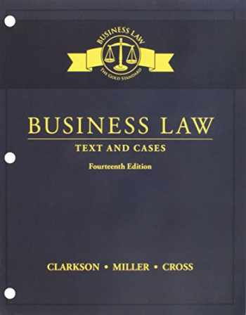 9781337374514-1337374512-Bundle: Business Law: Text and Cases, Loose-Leaf Version, 14th + MindTap Business Law, 2 terms (12 months) Printed Access Card