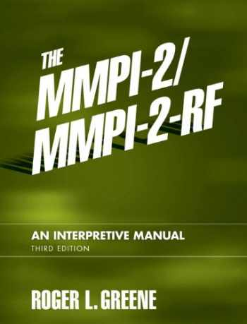 9780205535859-0205535852-The MMPI-2/MMPI-2-RF: An Interpretive Manual (3rd Edition)