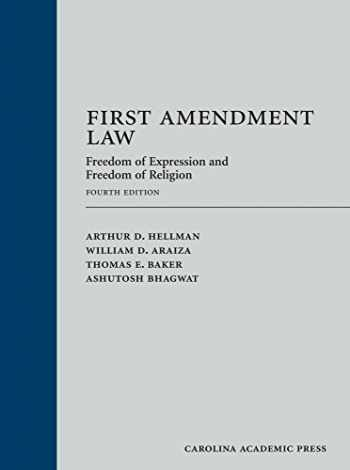 9781531009403-1531009409-First Amendment Law: Freedom of Expression and Freedom of Religion