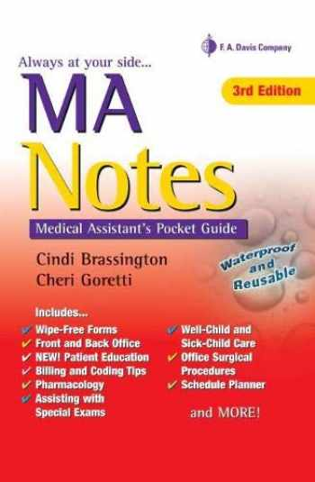 9780803645615-0803645619-MA Notes: Medical Assistant's Pocket Guide