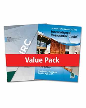 9781305400191-1305400194-2015 International Residential Code for One- and Two- Family Dwellings and Significant Changes to the 2015 International Residential Code