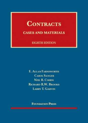 Cases and Materials on Contracts, 8th (University Casebook Series)