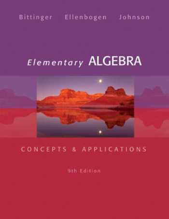 9780321874221-0321874226-Elementary Algebra: Concepts & Applications (9th Edition)