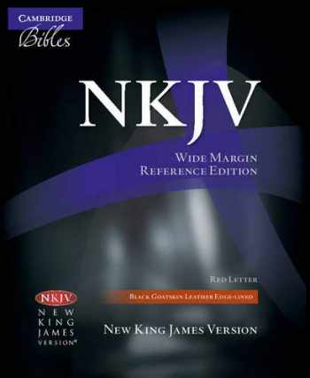 Sell, Buy or Rent NKJV Wide Margin Reference Bible, Black