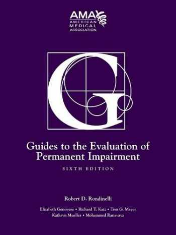 9781579478889-1579478883-Guides to the Evaluation of Permanent Impairment, Sixth Edition