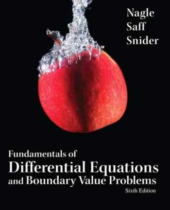 9780321747747-0321747747-Fundamentals of Differential Equations and Boundary Value Problems (6th Edition) (Featured Titles for Differential Equations)