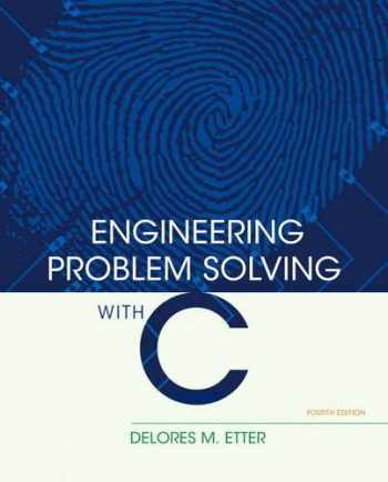 9780136085317-0136085318-Engineering Problem Solving with C (4th Edition)