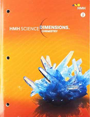 Sell, Buy or Rent HMH Science Dimensions Chemistry Grades 6-8 (Modul