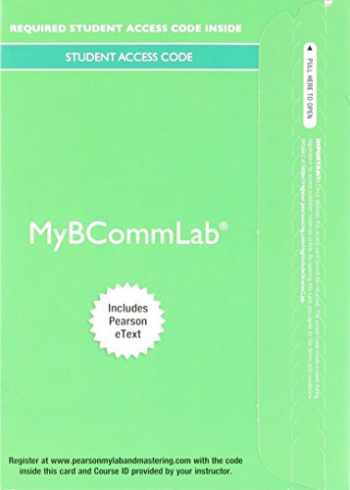 9780134390116-0134390113-MyBCommLab with Pearson eText -- Access Card -- for Excellence in Business Communication