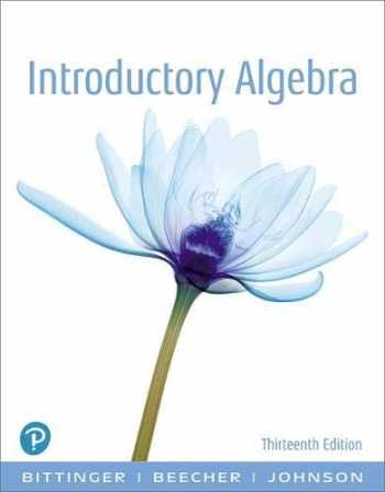 9780134689630-0134689631-Introductory Algebra (13th Edition)