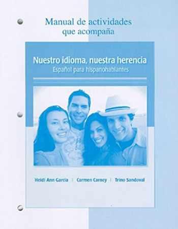 9780077237127-0077237129-Manual de actividades t/a Nuestro idioma, nuestra herencia