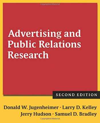 9780765636065-0765636069-Advertising and Public Relations Research