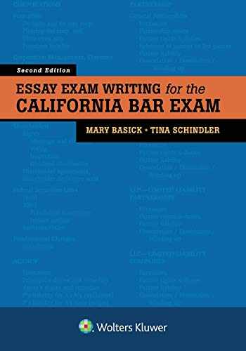 Sell, Buy or Rent Essay Exam Writing for the California Bar Exam  9781454898528 1454898526 online